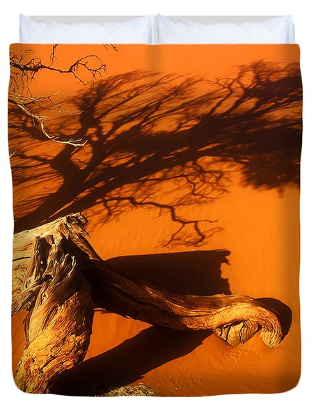 Namibia 2 Duvet Cover by Mauro Celotti