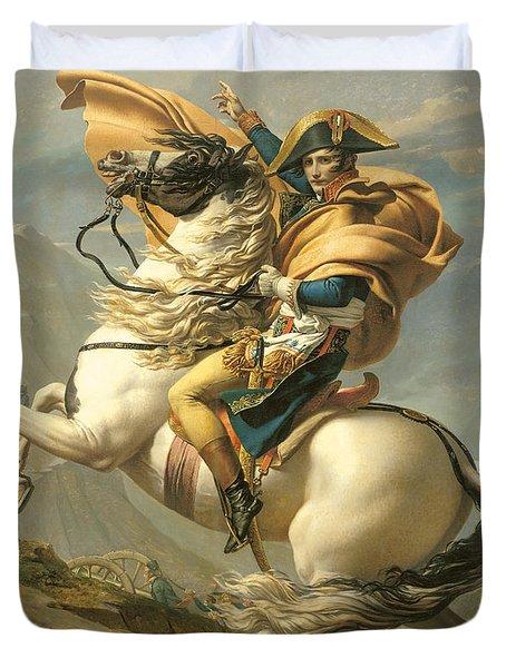 Napoleon Duvet Cover by Jacques Louis David