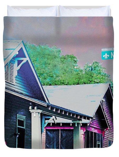 Napoleon Street Beauregard Baton Rouge Duvet Cover