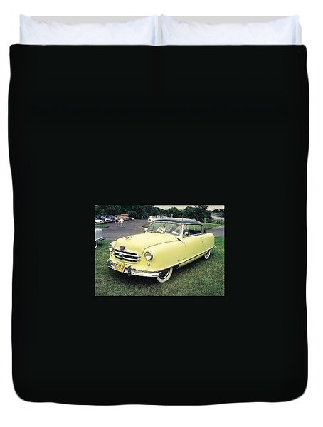 Duvet Cover featuring the photograph Nash Rambler by John Schneider