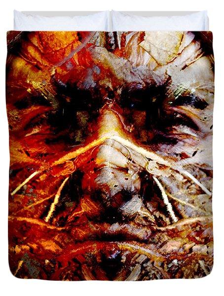 Native Spirit Duvet Cover by Christoher Gaston