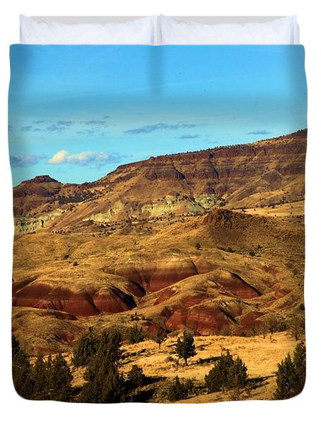 Natural Paint Duvet Cover by Adam Jewell