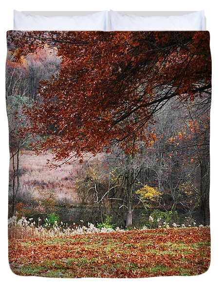 Nature's Canvas Duvet Cover
