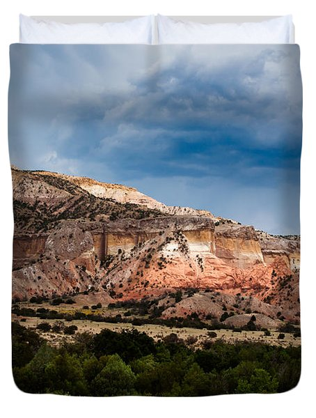 Nature's Paintbrush Duvet Cover