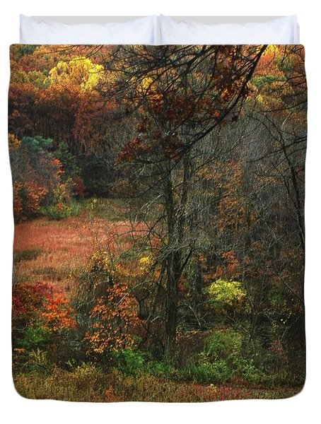 Nature's Paints Duvet Cover