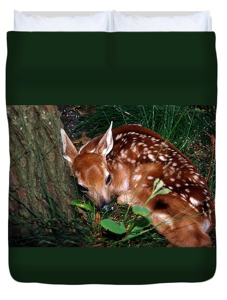 Nature's Precious Creation Duvet Cover by Skip Willits