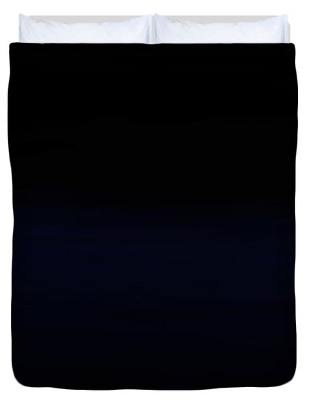 Navy Black Duvet Cover