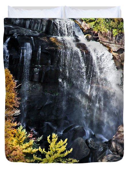 Whitewater Falls Duvet Cover