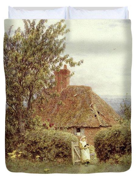 Near Haslemere Duvet Cover by Helen Allingham