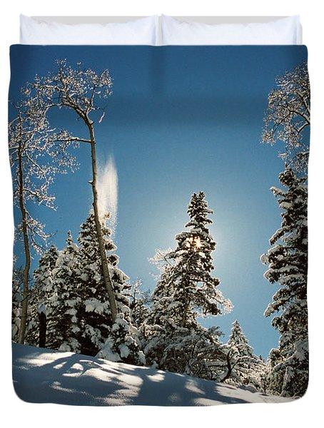 New Fallen Snow Duvet Cover