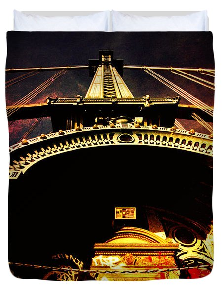 New York City Architecture Duvet Cover by Vivienne Gucwa