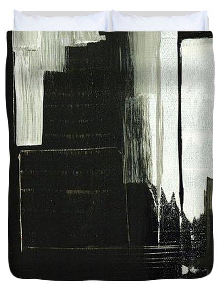 New York City Reflection Duvet Cover