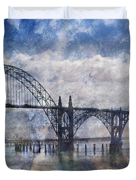 Newport Fantasy Duvet Cover by Mick Anderson