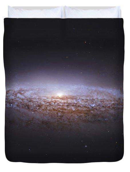 Ngc 2683, Unbarred Spiral Galaxy Duvet Cover by Robert Gendler