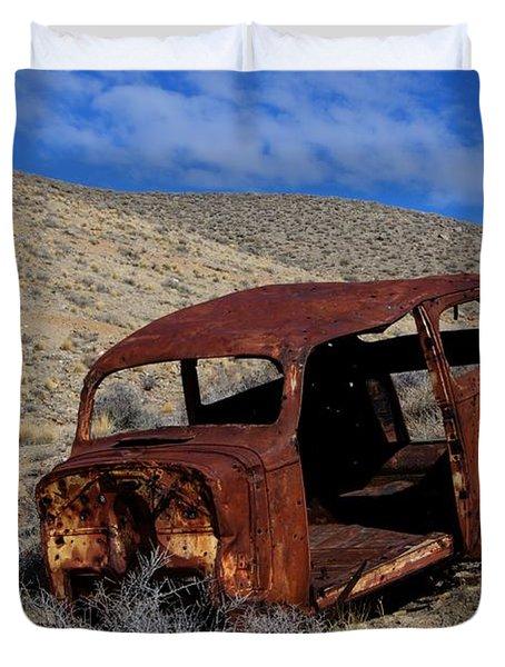Nice Body Duvet Cover by Bob Christopher