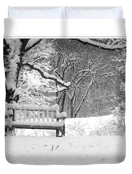 Duvet Cover featuring the photograph Nichols Arboretum #1 by Phil Perkins