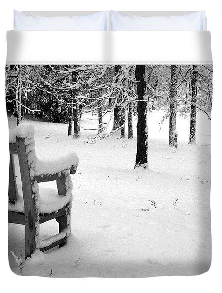 Duvet Cover featuring the photograph Nichols Arboretum #2 by Phil Perkins