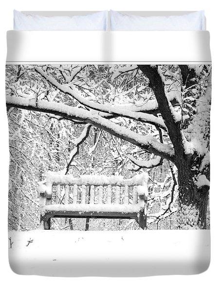 Duvet Cover featuring the photograph Nichols Arboretum #3 by Phil Perkins