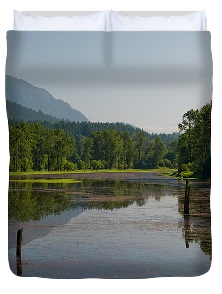 Nicomen Slough 2 Duvet Cover