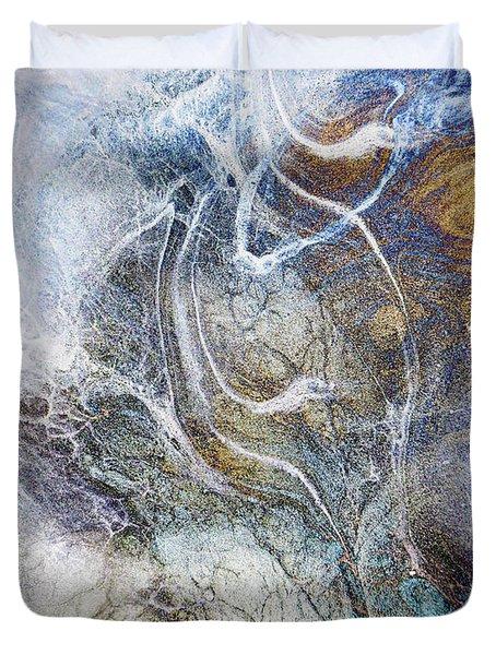 Night Blizzard Duvet Cover