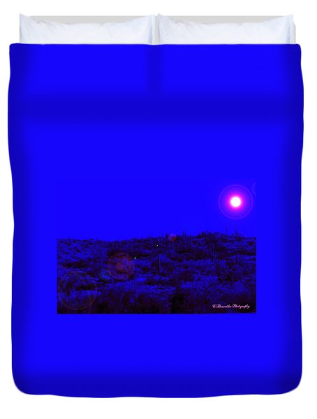 Night Or Day Duvet Cover