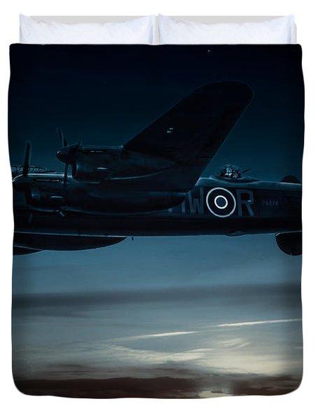 Nightflight Duvet Cover by Chris Lord