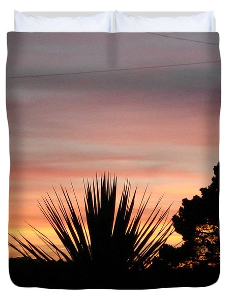 Duvet Cover featuring the photograph No Dreaming by Katy Mei