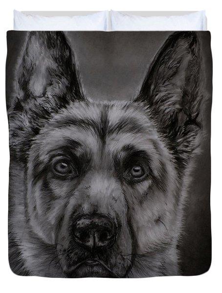 Noble - German Shepherd Dog  Duvet Cover