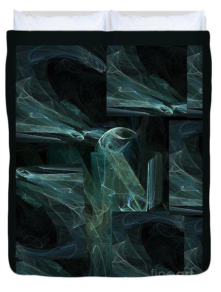Noche Azul Duvet Cover