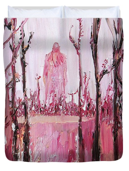 None Can Reach Heaven Who Has Not Passed Through Hell Duvet Cover by Fabrizio Cassetta
