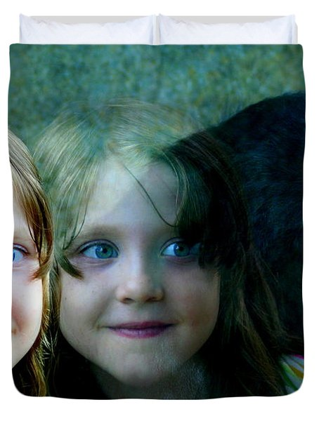 Nora's Reflection Duvet Cover