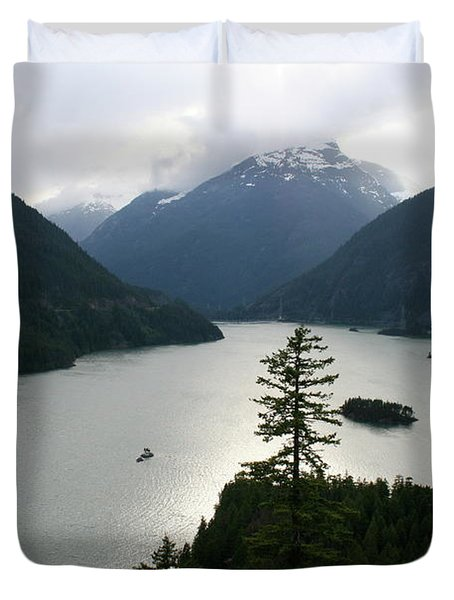 North Cascades Duvet Cover