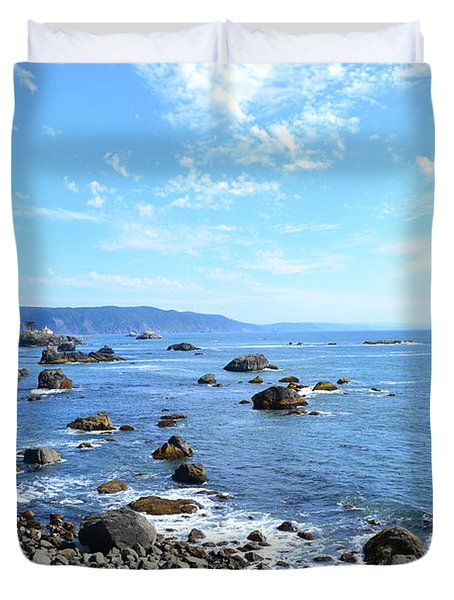Northern California Coast3 Duvet Cover