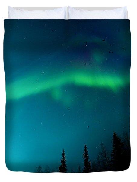 Northern Magic Duvet Cover by Priska Wettstein