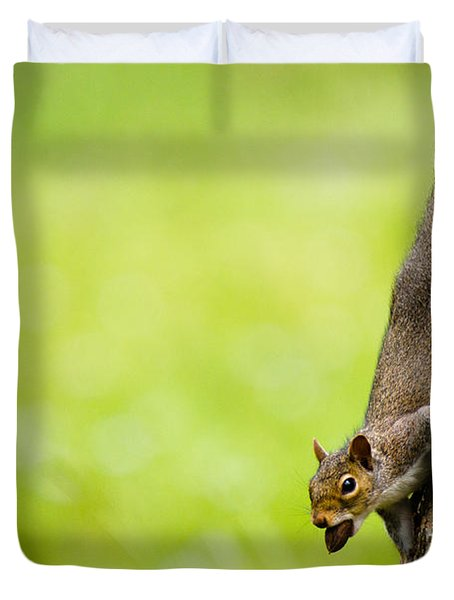Nut Job Duvet Cover
