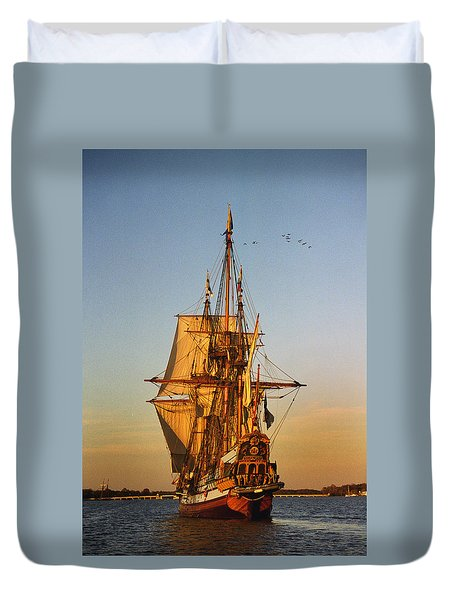 Nyckel On The Chester Duvet Cover by Skip Willits