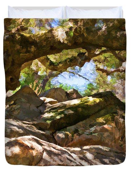 Oak Canopy Duvet Cover