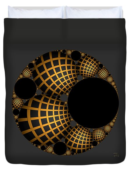 Objects In Motion - Objects At Rest Duvet Cover by Manny Lorenzo