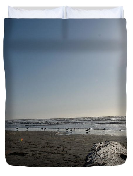 Ocean At Peace Duvet Cover