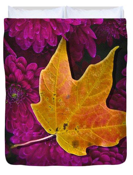 October Hues Duvet Cover by Paul Wear