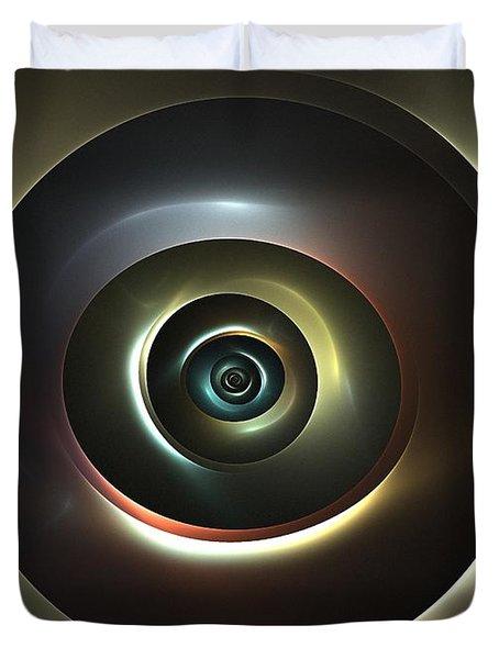Ocular Lens Duvet Cover by Kim Sy Ok