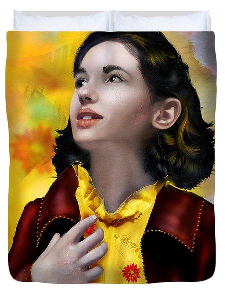 Ofelia's Dream Duvet Cover by Mary Hood