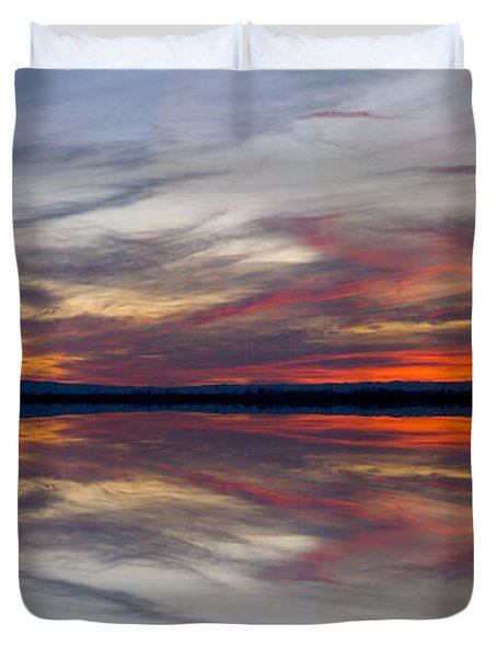 Off Highway 99 Duvet Cover by Mark Greenberg
