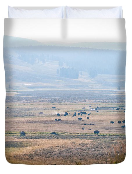 Oh Home On The Range Duvet Cover by Cheryl Baxter