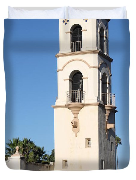 Ojai Post Office Tower Duvet Cover