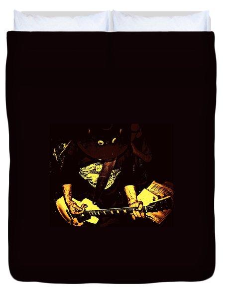 Ol School Duvet Cover by Chris Berry