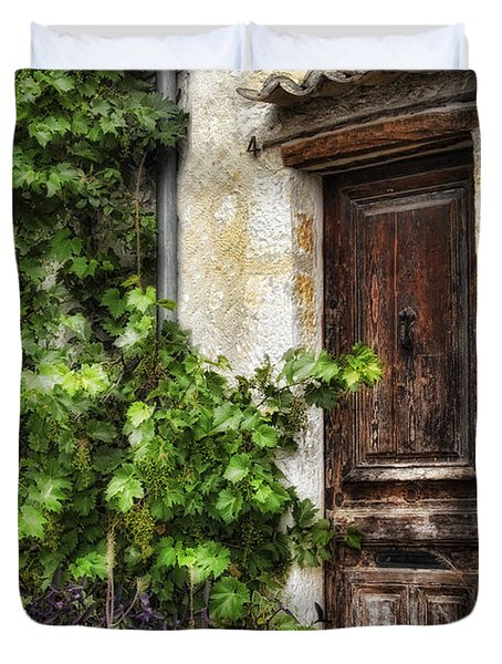 Old Door 2 Duvet Cover by Mauro Celotti