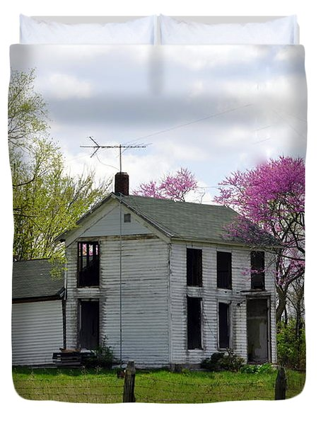 Old Farmstead Duvet Cover by Marty Koch