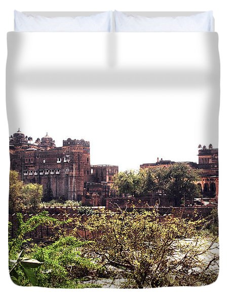 Old Fort In India Duvet Cover by Sumit Mehndiratta
