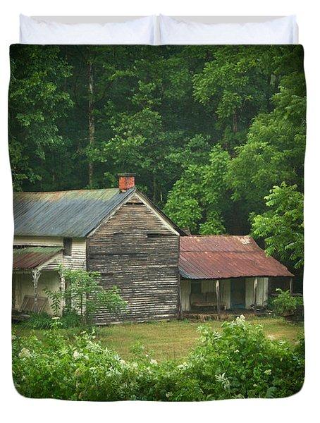 Old Home Place Duvet Cover by Douglas Barnett